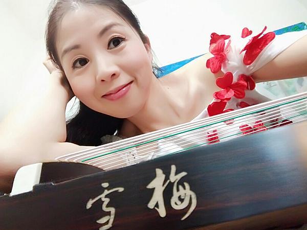 雪梅ミニ古筝125cm